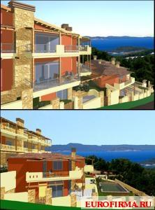 Виллы в греции купить у моря недорого