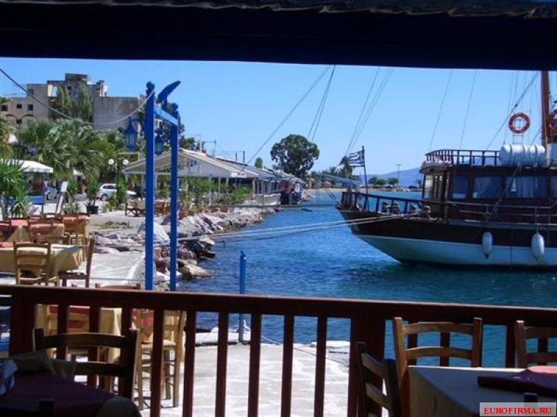 Квартира в остров Халкида на побережье